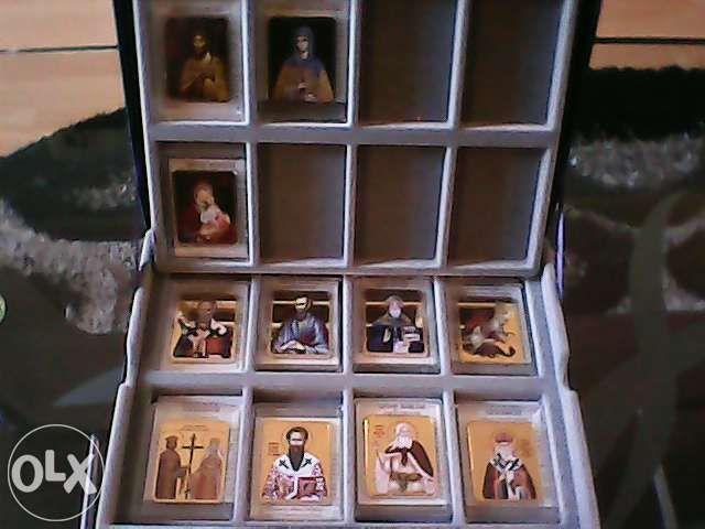 Iconite cu sfinti romani ortodocsi