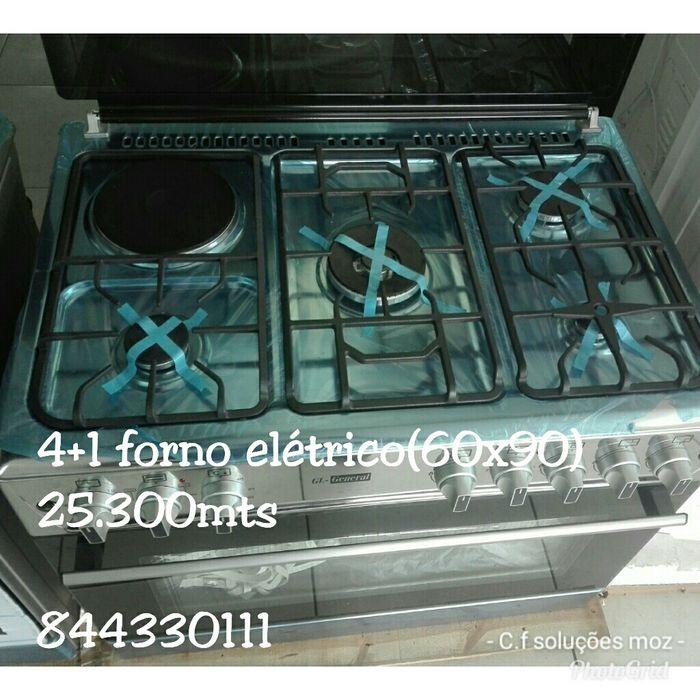 Fogão(60x90) 4+1 forno elétrico.Gl_general. Disponível