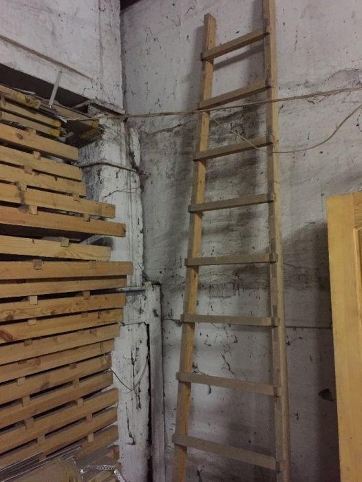 Лестница деревянная 3м.