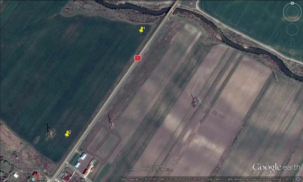 Vanzare  terenuri agricol Giurgiu, Iepuresti  - 4 EURO