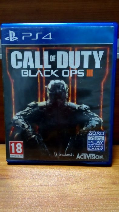 Vendo Call of Duty Black Ops III PS4