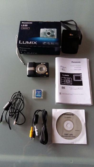 Camera foto digitala Panasonic Lumix DMC-LS80 Black