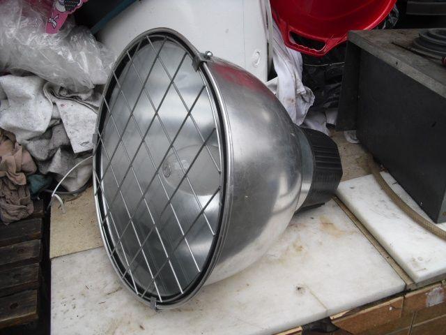 PEDAS Proiector Industrial Mare cu Bec - Diametru 44 cm