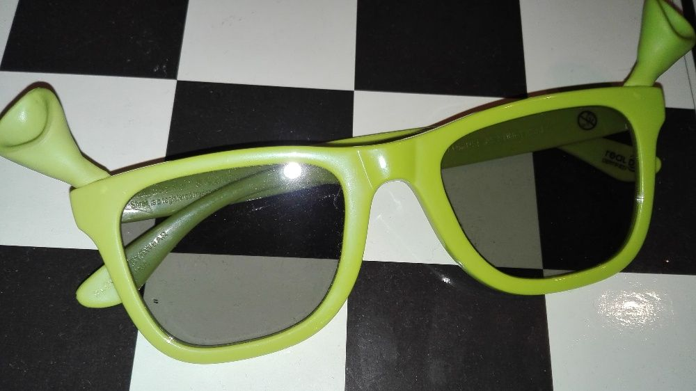 Колекционерски 3D очила за пасивни 3D телевизори и кино