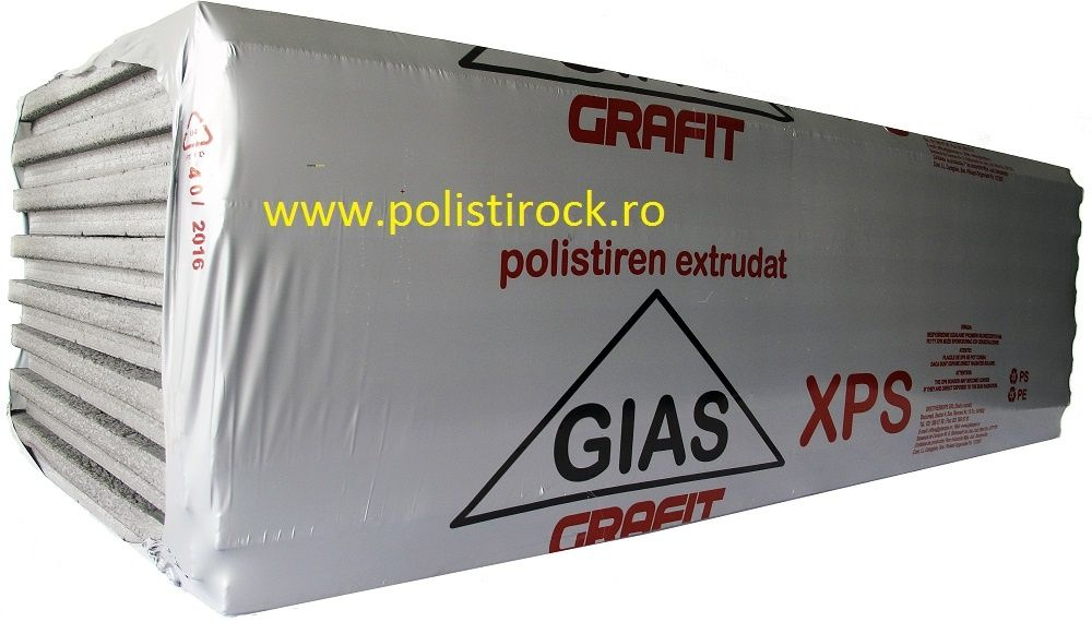 Polistiren Extrudat GIAS XPS Toate Dimensiunile in Stoc
