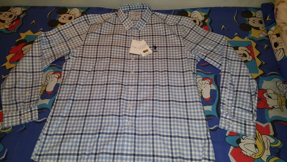 маркови ризи U.s. Polo Assn с дълъг ръкав