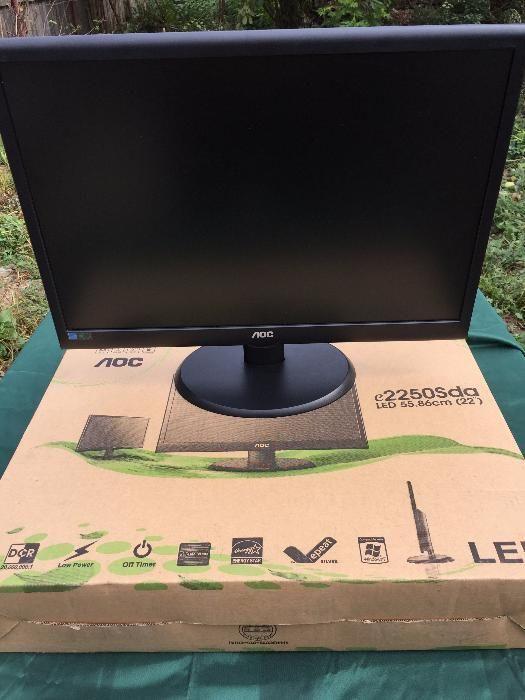 Monitor LED AOC e2250Sda 22inch / 51 cm Extraplate