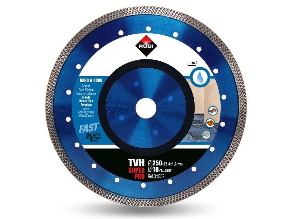 Disc diamantat Turbo 250X1.6X25.4 mm 31937 RUBI Profesional