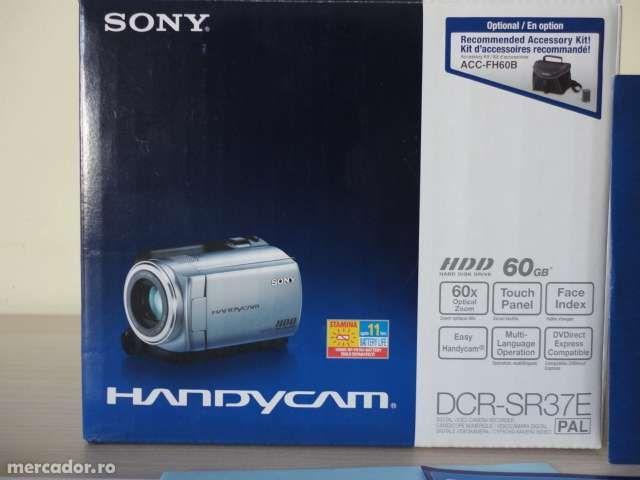 Camera video/foto SONY DCR-SR37E