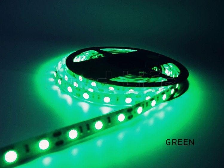 Свето-диодная LED лента SMD цвет ЗЕЛЁНЫЙ питание 12 вольт и есть друг.