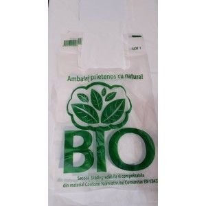 Sacose biodegradabile 0,30 lei+tva