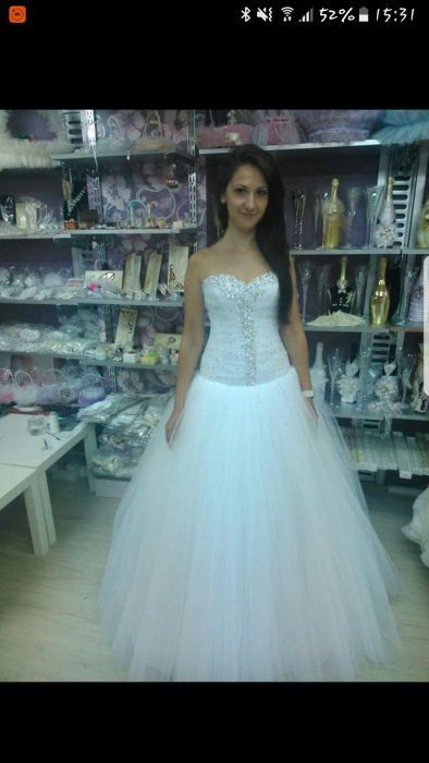 Булчинска рокля /сватбена рокля