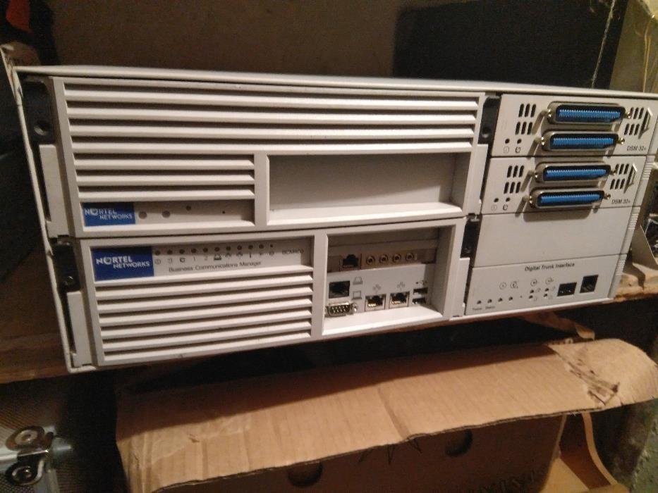 Телефонни централи Nortel BCM400 и Samsung OfficeServ 7200 в много доб