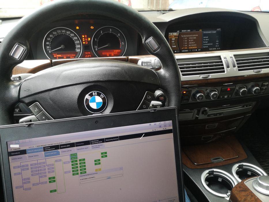 Диагностика и кодиране БМВ Е60 Е65 Е70 Е90 BMW F10 E60 E63 E65 E70 E90