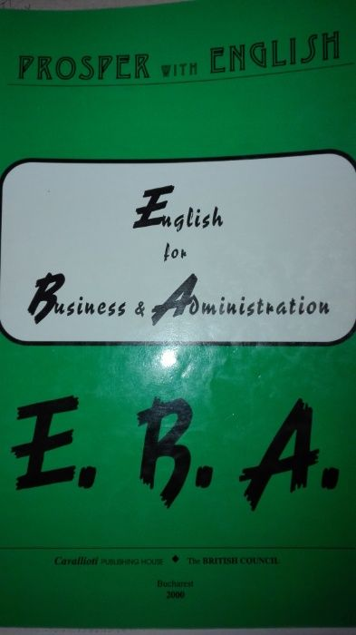 English for business & administration
