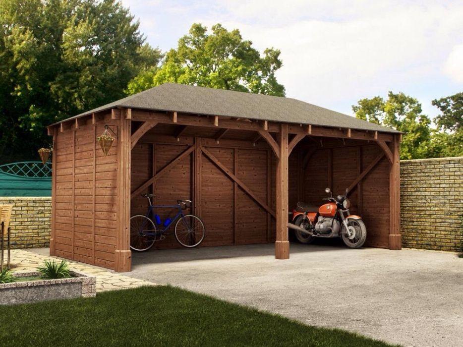 Garagens em madeira Moave