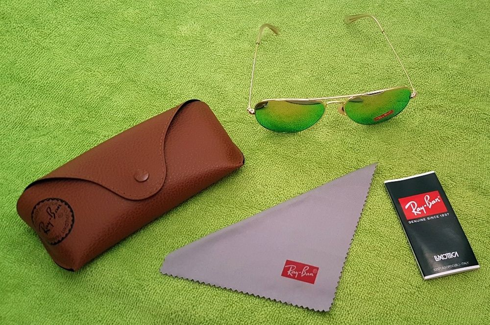Ray-Ban Aviator Large Metal - Flash lens -clasici, frumoşi, atrăgători