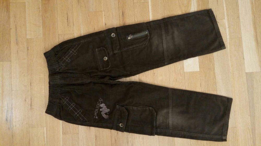 Детски топли джинси 100%памук, меки и удобни с ластик с кръста