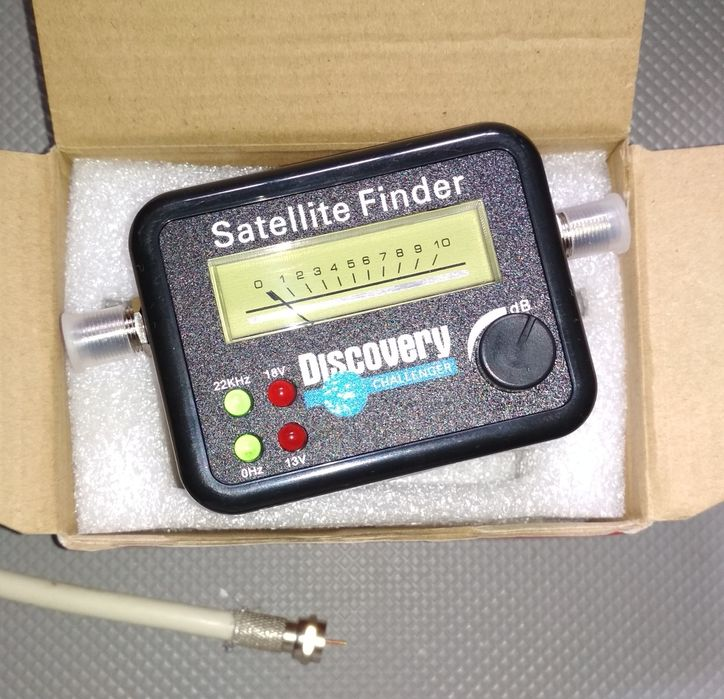 Localizador de satélites/ Satellite finder para ZAP, DSTV, etc