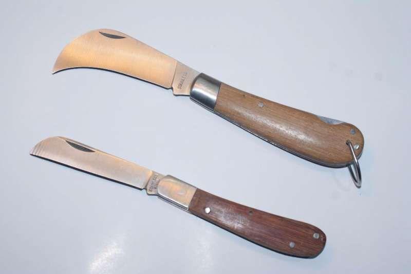 нож за ашладисване (присаждане) и инструменти