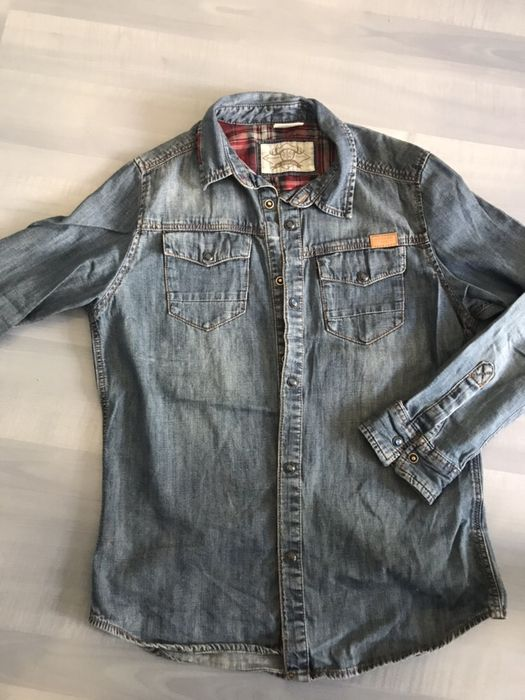 Дънкова риза Zara