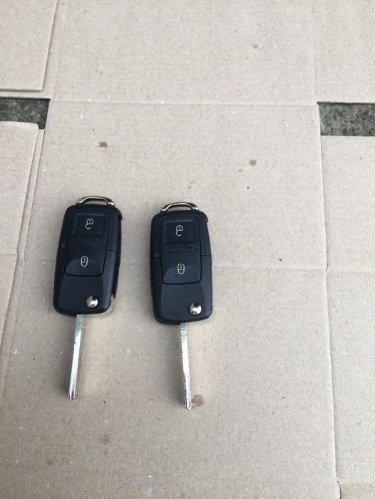 Cheie Tip Briceag Volkswagen,Skoda Noua cu Cip