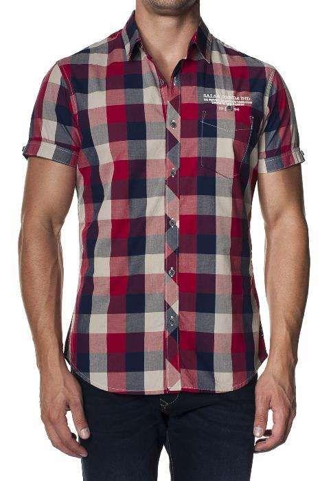 Camisa Marca Salsa - Tamanho L - Nova com Etiqueta
