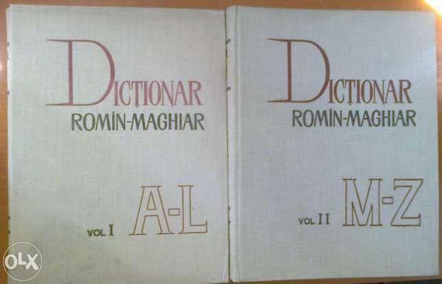Dictionar roman-maghiar vol. 1, 2 - anul 1964 (mari)