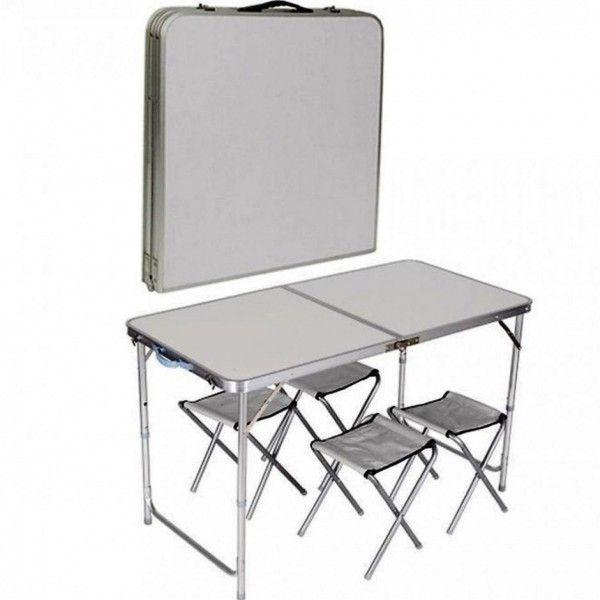 Vand Set masa camping + 4 scaune