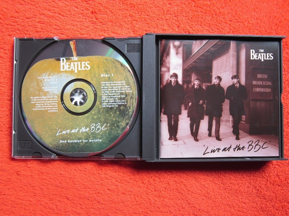 """The Beatles –""""Live At The BBC"""" , Apple Records -2xCD originale"""