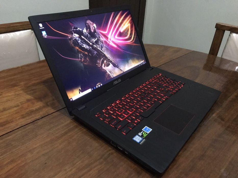 Laptop Gamer Asus ROG GL753VE, i7-7700HQ, GTX 1050Ti 16 RAM, 1Tb + 256