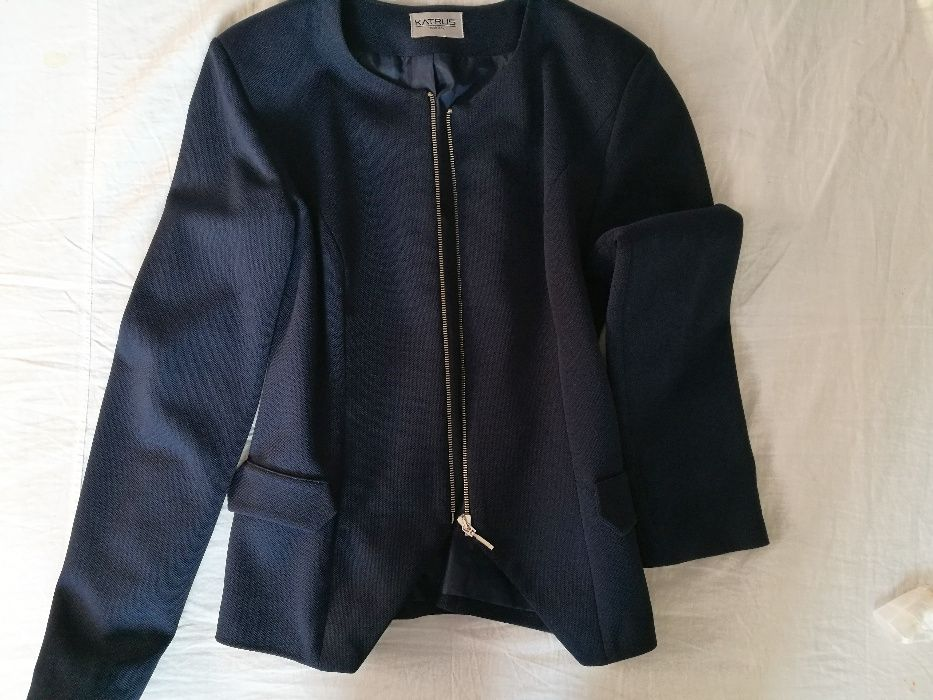 Дамско сако / блейзър в син цвят KATRUS