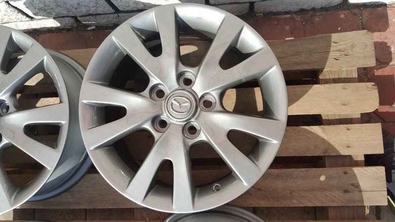 Jante Mazda 3 6.5x16 et 52.5 5x114,3 Oradea - imagine 7