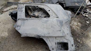 добавка задна броня никел ,З.Л лаисна заден ляв панел за ГЛ Mercedes G