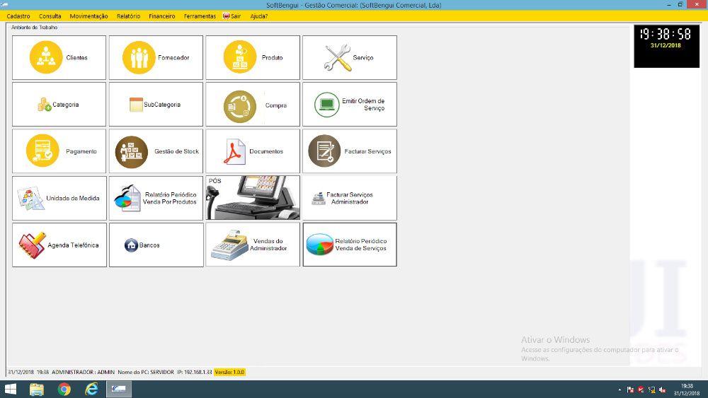 Software para lojas e farmácias emissão de facturas electronica