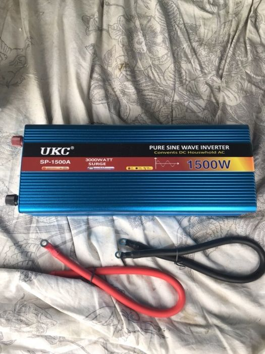 Invertor Sinus Pur 1500W (12V) Frigider