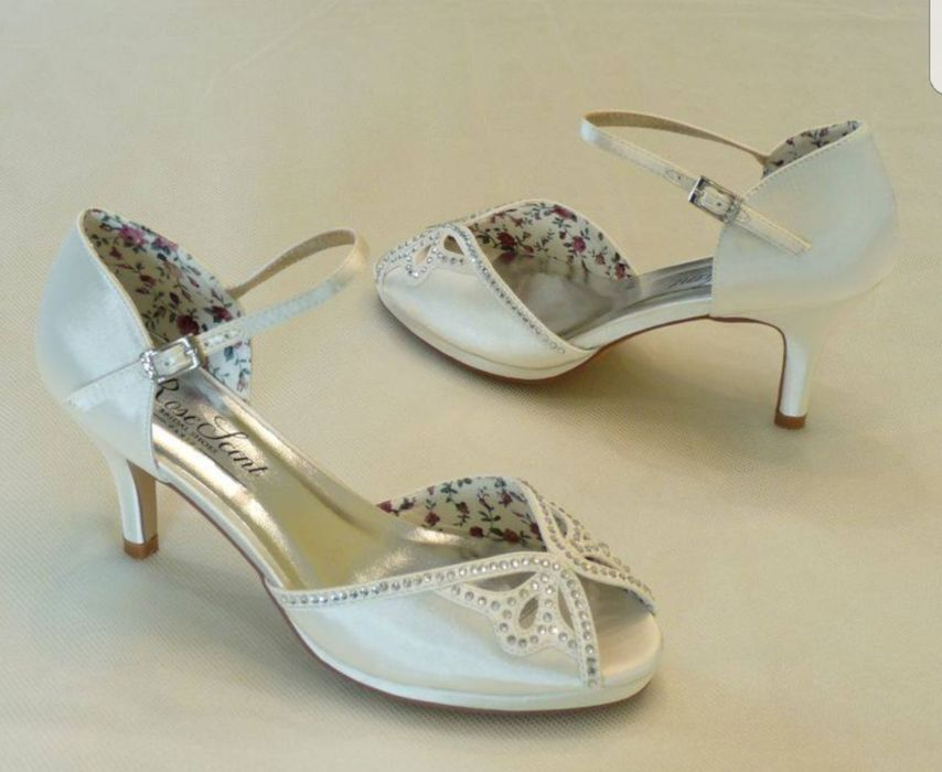 Pantofi/Sandale mireasa din satin