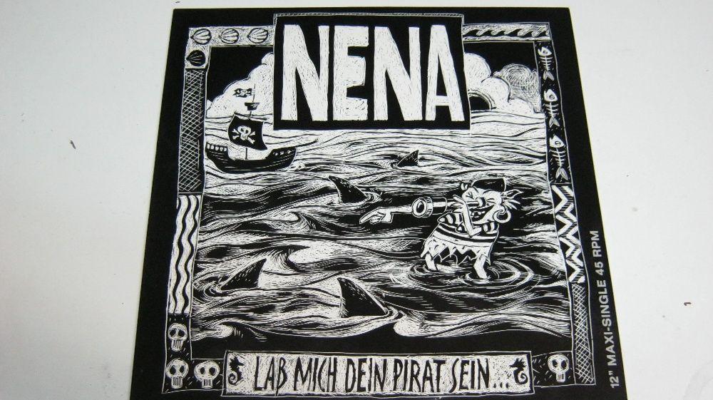 """Disc vinil,Maxi,""""NENA,Las Mich Dein Pirat Sein..""""12""""/45rpm."""
