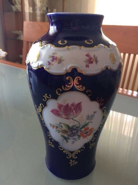 Продам вазу Weimar Kobalt, ГДР