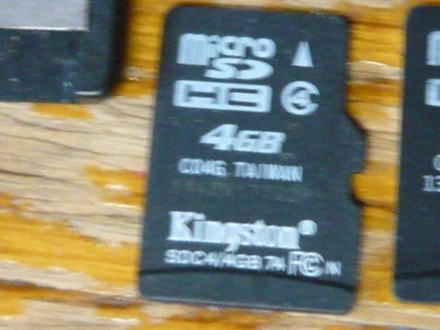 Card memorie microSD HC Kingston 4 GB