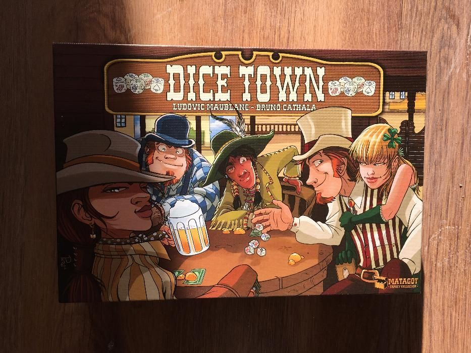 Joc de societate Dice Town (lb.engleza)