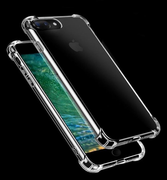 ANTI-KNOCK Силиконов Удароустойчив Кейс Калъф iPhone 7, 7+, 8, 8 Plus