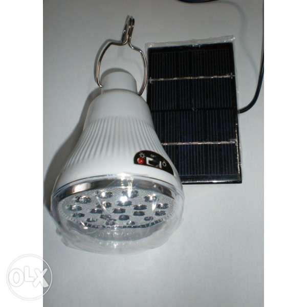 Соларни Лед акумулаторни лампи -4 модела
