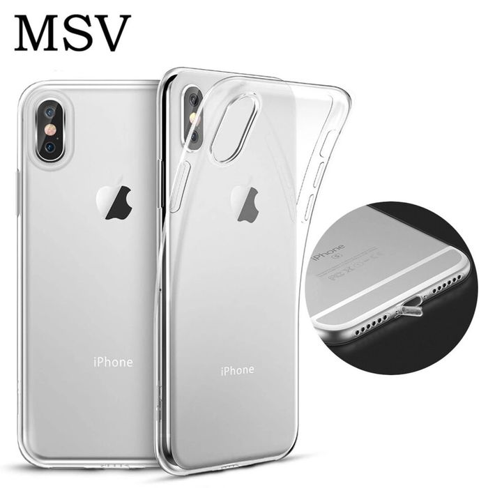 Iphone X XS 10 XS MAX Husa Slim Silicon Transparenta Dopuri Protectie