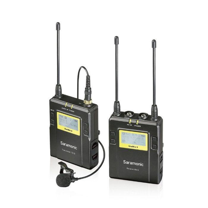 Lavaliera wireless kit Saramonic UWMIC9 (RX9+ TX9) 96 canale