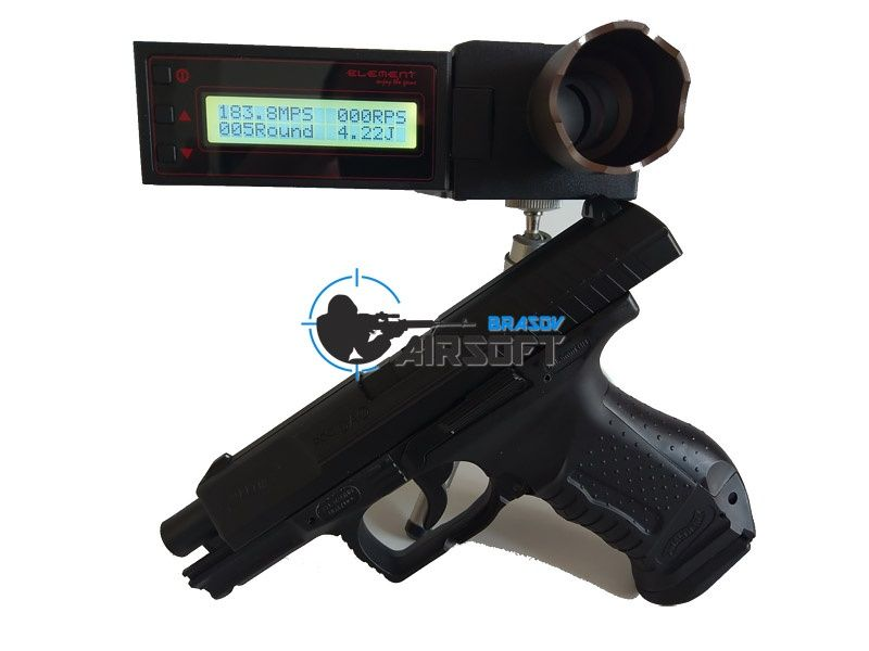 Pistol Airsoft Walther P99 Dao 4j, Bile+capsule+cutie transport