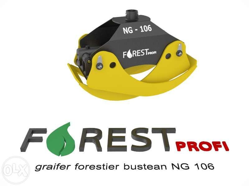 Graifer forestier NG 106 deschidere 1060mm Alba Iulia - imagine 2