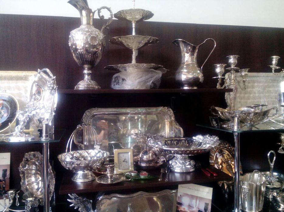 Серебряная столовая посуда