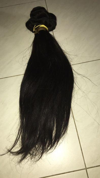 cabelo liso bainha cumprido