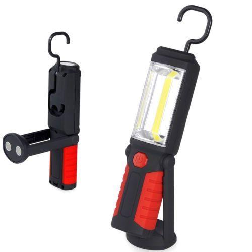 lampa lanterna reparatii cu masini LED & COB reincarcabila USB carlig